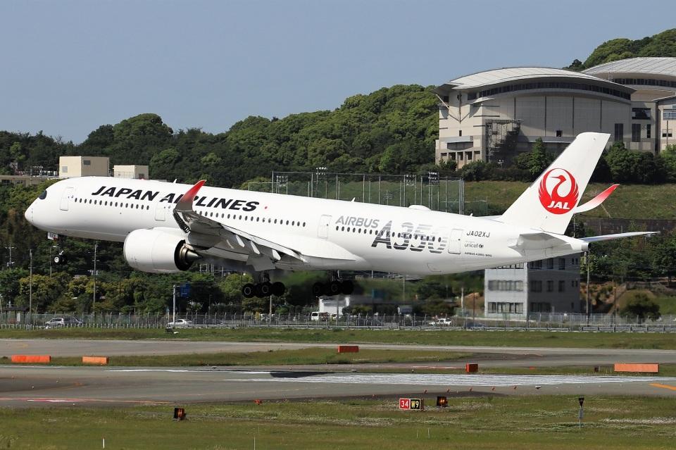 kan787allさんの日本航空 Airbus A350-900 (JA02XJ) 航空フォト