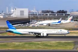 Galaxybirdさんが、羽田空港で撮影したガルーダ・インドネシア航空 777-3U3/ERの航空フォト(飛行機 写真・画像)