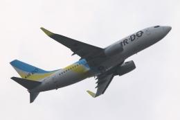 Hiro-hiroさんが、羽田空港で撮影したAIR DO 737-781の航空フォト(飛行機 写真・画像)