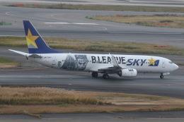 プルシアンブルーさんが、羽田空港で撮影したスカイマーク 737-86Nの航空フォト(飛行機 写真・画像)