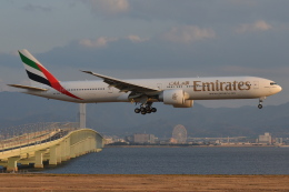 Deepさんが、関西国際空港で撮影したエミレーツ航空 777-31H/ERの航空フォト(飛行機 写真・画像)
