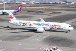 ヨッシューさんが、羽田空港で撮影した日本航空 787-9の航空フォト(飛行機 写真・画像)