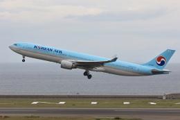 わんだーさんが、中部国際空港で撮影した大韓航空 A330-323Xの航空フォト(飛行機 写真・画像)