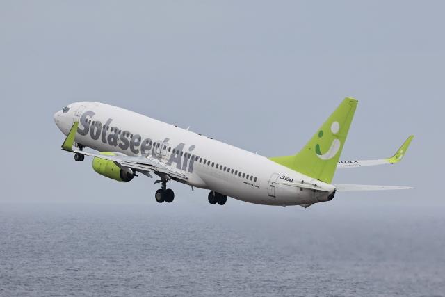 わんだーさんが、中部国際空港で撮影したソラシド エア 737-86Nの航空フォト(飛行機 写真・画像)