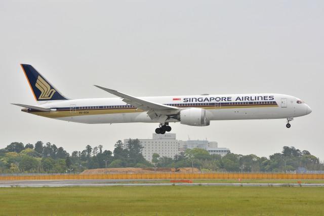サンドバンクさんが、成田国際空港で撮影したシンガポール航空 787-10の航空フォト(飛行機 写真・画像)