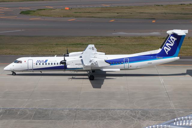 A.Tさんが、中部国際空港で撮影したANAウイングス DHC-8-402Q Dash 8の航空フォト(飛行機 写真・画像)
