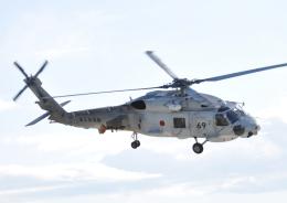 チャーリーマイクさんが、名古屋飛行場で撮影した海上自衛隊 SH-60Jの航空フォト(飛行機 写真・画像)