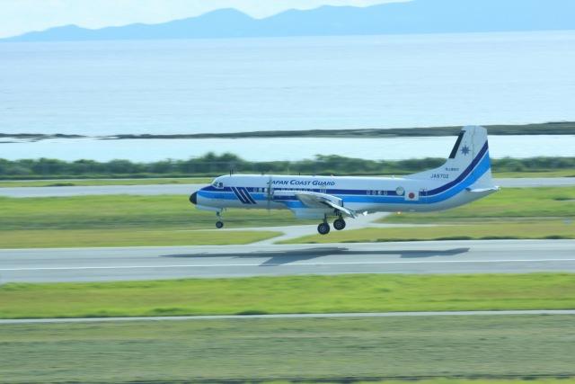 t.anrakuさんが、那覇空港で撮影した海上保安庁 YS-11A-207の航空フォト(飛行機 写真・画像)