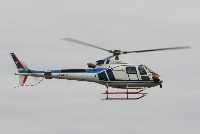 Defiantさんが、岡南飛行場で撮影した中日本航空 AS350B3 Ecureuilの航空フォト(飛行機 写真・画像)
