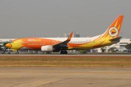 磐城さんが、ドンムアン空港で撮影したノックエア 737-88Lの航空フォト(飛行機 写真・画像)