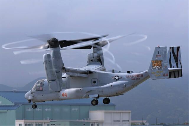 masatakaさんが、鹿屋航空基地で撮影したアメリカ海兵隊 MV-22Bの航空フォト(飛行機 写真・画像)