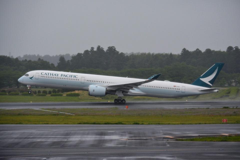 あまるめさんのキャセイパシフィック航空 Airbus A350-1000 (B-LXI) 航空フォト