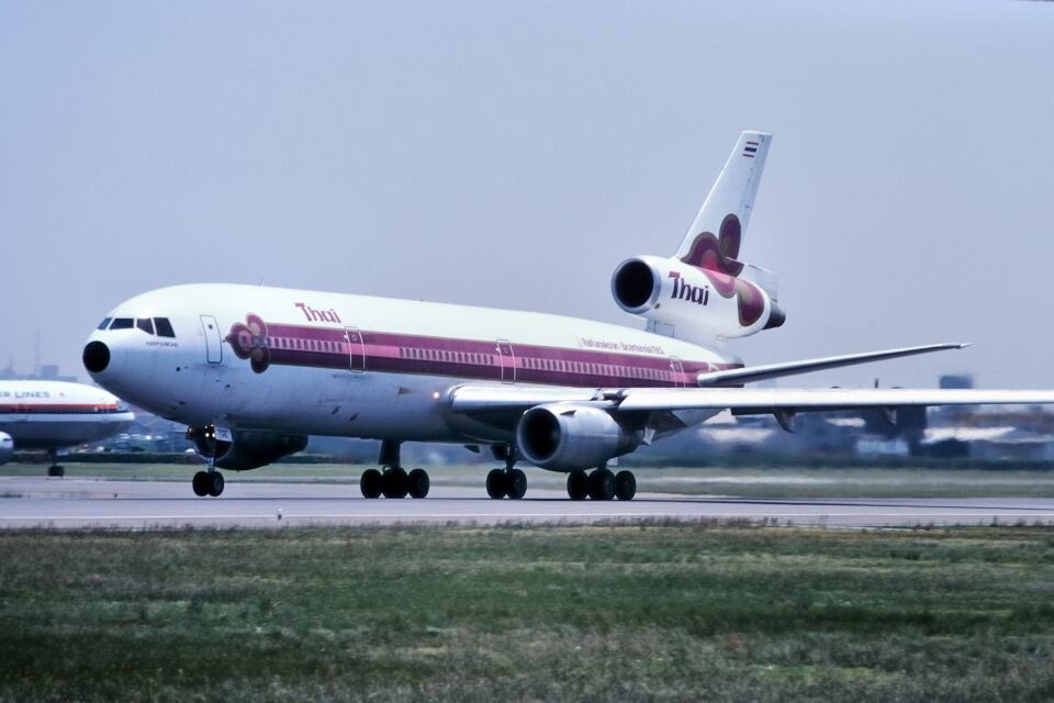 パール大山さんのタイ国際航空 McDonnell Douglas DC-10 (HS-TGE) 航空フォト