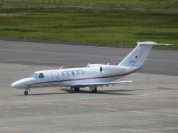 宮城の航空ファンさんが、仙台空港で撮影した国土交通省 航空局 525C Citation CJ4の航空フォト(飛行機 写真・画像)
