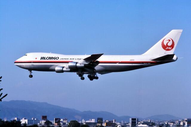 パール大山さんが、伊丹空港で撮影した日本航空 747-246F/SCDの航空フォト(飛行機 写真・画像)