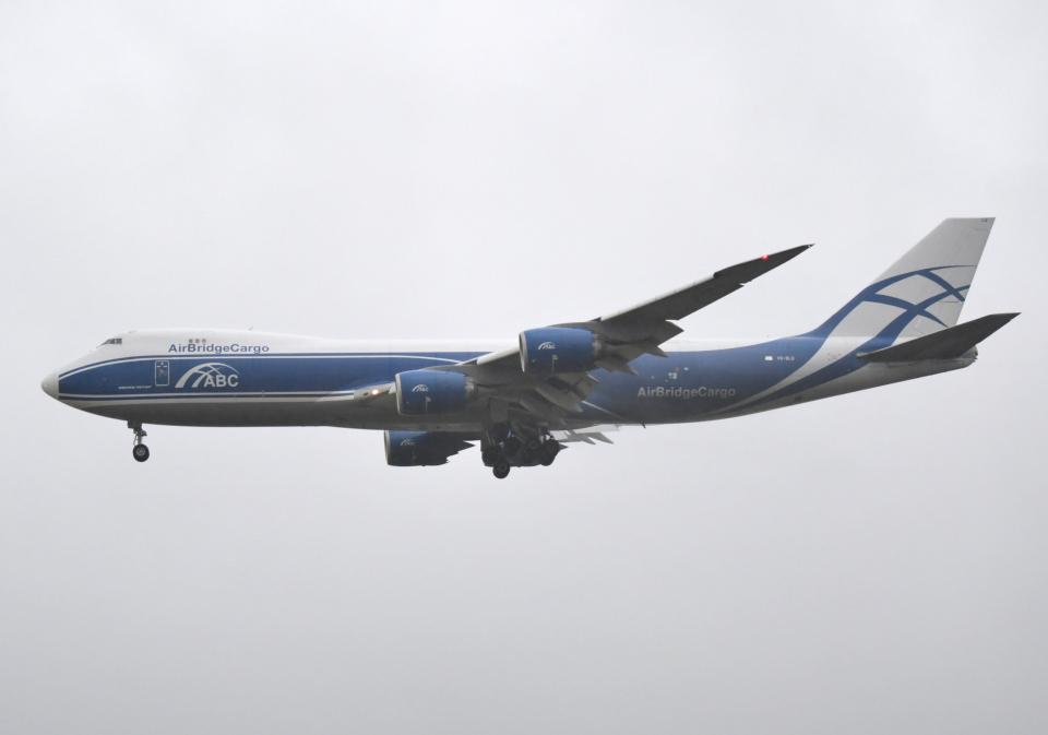 雲霧さんのエアブリッジ・カーゴ・エアラインズ Boeing 747-8 (VQ-BLQ) 航空フォト