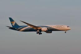 ポン太さんが、スワンナプーム国際空港で撮影したオマーン航空 787-9の航空フォト(飛行機 写真・画像)