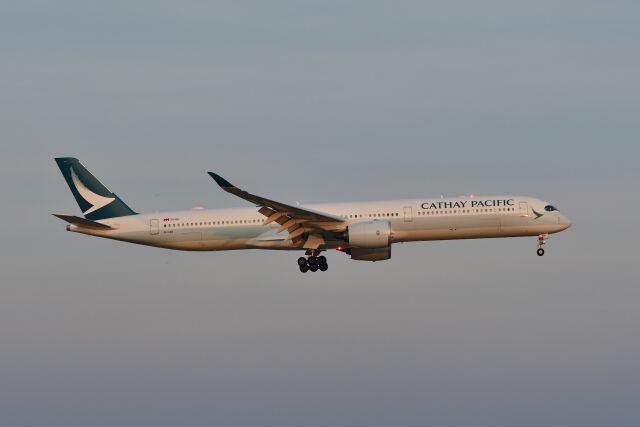 ポン太さんが、スワンナプーム国際空港で撮影したキャセイパシフィック航空 A350-1041の航空フォト(飛行機 写真・画像)