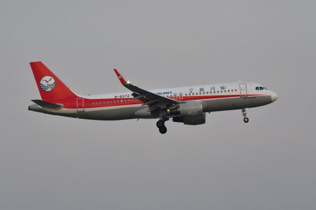 ポン太さんが、スワンナプーム国際空港で撮影した四川航空 A320-214の航空フォト(飛行機 写真・画像)