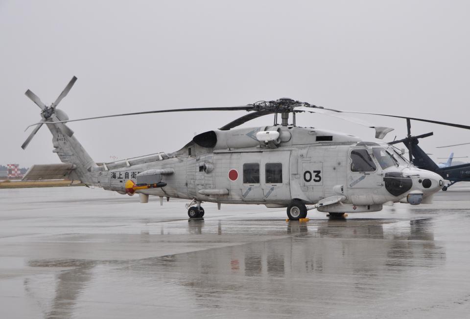 チャーリーマイクさんの海上自衛隊 Mitsubishi SH-60K (8403) 航空フォト