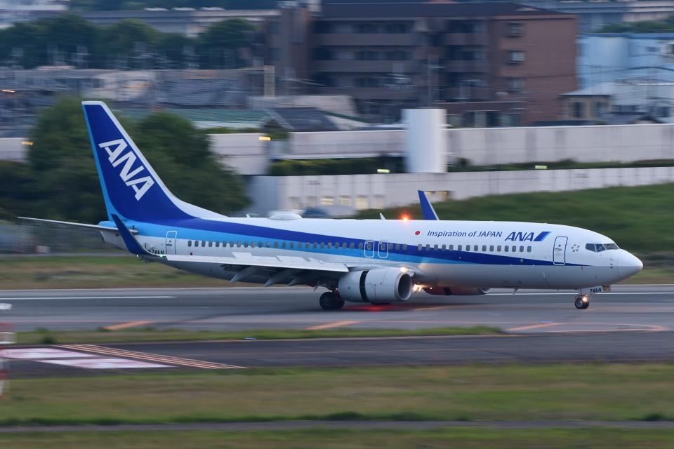 TOPAZ102さんの全日空 Boeing 737-800 (JA74AN) 航空フォト