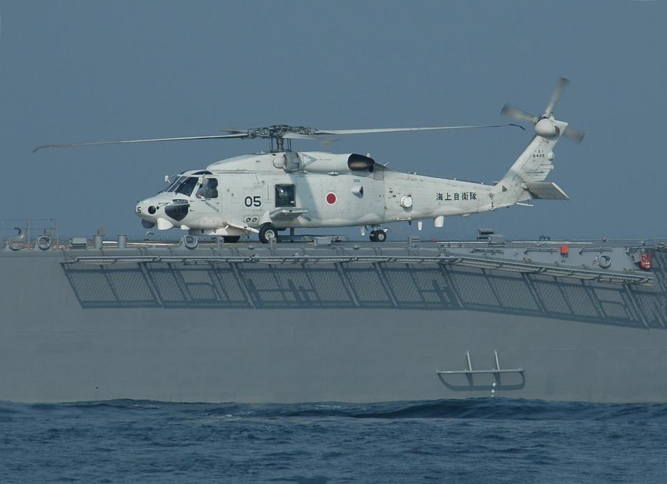 チャーリーマイクさんの海上自衛隊 Mitsubishi SH-60K (8405) 航空フォト
