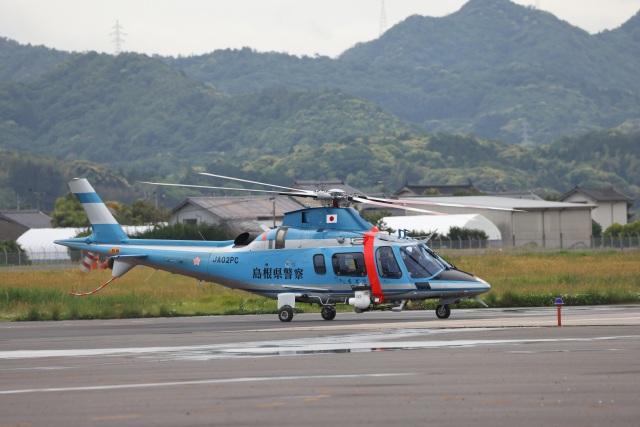 MIRAGE E.Rさんが、出雲空港で撮影した島根県警察 A109E Powerの航空フォト(飛行機 写真・画像)