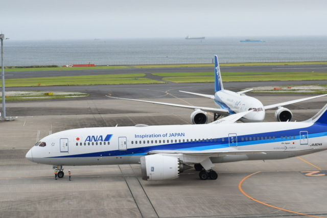 yamashin78さんが、羽田空港で撮影した全日空 787-8 Dreamlinerの航空フォト(飛行機 写真・画像)