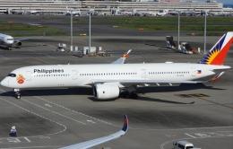 チャレンジャーさんが、羽田空港で撮影したフィリピン航空 A350-941の航空フォト(飛行機 写真・画像)