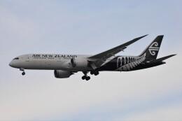 フッ軽の極美さんが、シンガポール・チャンギ国際空港で撮影したニュージーランド航空 787-9の航空フォト(飛行機 写真・画像)