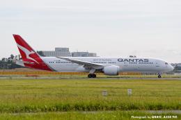 kina309さんが、成田国際空港で撮影したカンタス航空 787-9の航空フォト(飛行機 写真・画像)