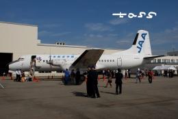 tassさんが、能登空港で撮影した日本航空学園 YS-11A-500の航空フォト(飛行機 写真・画像)