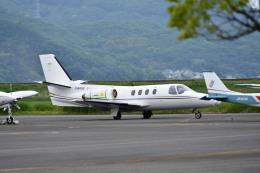 Gambardierさんが、岡南飛行場で撮影した日本法人所有 501 Citation I/SPの航空フォト(飛行機 写真・画像)