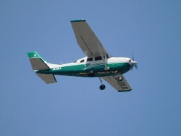 tetuさんが、札幌飛行場で撮影した共立航空撮影 Turbo Stationair TC (T206H)の航空フォト(飛行機 写真・画像)