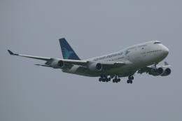 木人さんが、成田国際空港で撮影したガルーダ・インドネシア航空 747-441の航空フォト(飛行機 写真・画像)