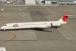 jun☆さんが、中部国際空港で撮影した日本航空 MD-81 (DC-9-81)の航空フォト(飛行機 写真・画像)