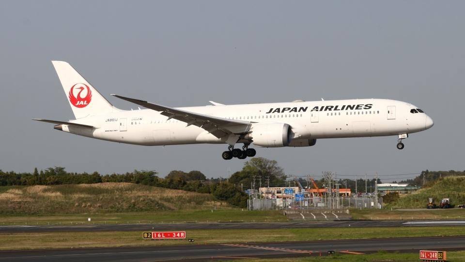 raichanさんの日本航空 Boeing 787-9 (JA861J) 航空フォト