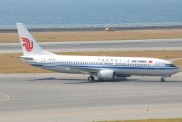 jun☆さんが、中部国際空港で撮影した中国国際航空 737-86Nの航空フォト(飛行機 写真・画像)