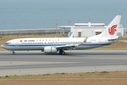 jun☆さんが、中部国際空港で撮影した中国国際航空 737-89Lの航空フォト(飛行機 写真・画像)