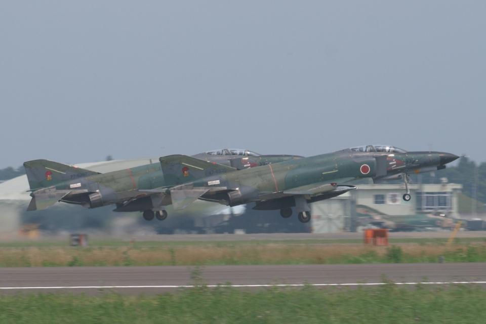 木人さんの航空自衛隊 Mitsubishi RF-4EJ Phantom II (47-6335) 航空フォト