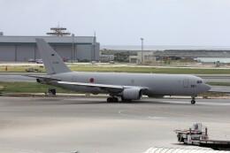 フッ軽の極美さんが、那覇空港で撮影した航空自衛隊 KC-767J (767-2FK/ER)の航空フォト(飛行機 写真・画像)