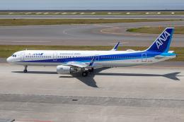 A.Tさんが、中部国際空港で撮影した全日空 A321-211の航空フォト(飛行機 写真・画像)