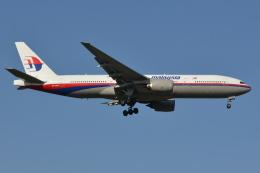 Deepさんが、成田国際空港で撮影したマレーシア航空 777-2H6/ERの航空フォト(飛行機 写真・画像)