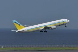 kumagorouさんが、羽田空港で撮影したAIR DO 767-381の航空フォト(飛行機 写真・画像)