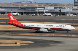 フッ軽の極美さんが、羽田空港で撮影した上海航空 A330-343Xの航空フォト(飛行機 写真・画像)