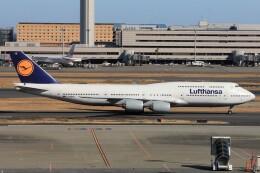 フッ軽の極美さんが、羽田空港で撮影したルフトハンザドイツ航空 747-830の航空フォト(飛行機 写真・画像)
