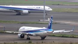 誘喜さんが、羽田空港で撮影した全日空 A321-272Nの航空フォト(飛行機 写真・画像)