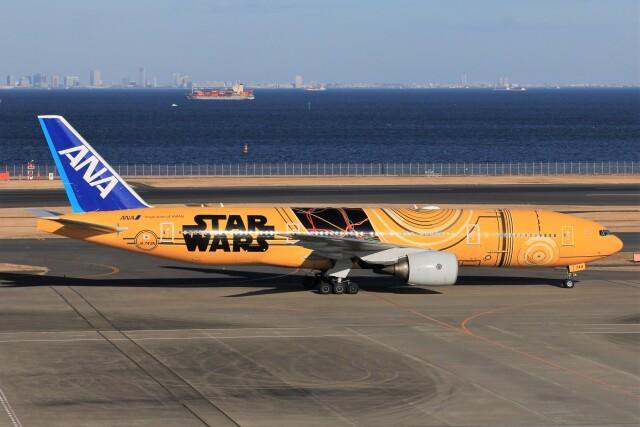 航空フォト:JA743A 全日空 777-200