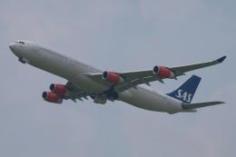 木人さんが、成田国際空港で撮影したスカンジナビア航空 A340-313Xの航空フォト(飛行機 写真・画像)
