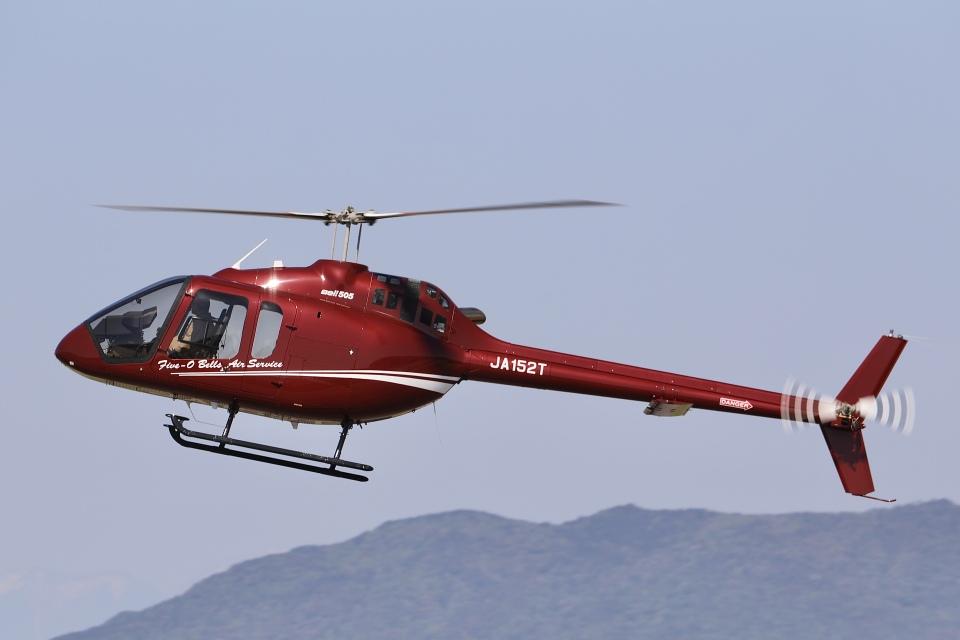 Hii82さんの日本法人所有 Bell 505 (JA152T) 航空フォト
